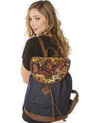 Obey The Dahlia Rucksack - Lyst