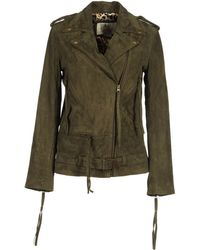 Sara Berman - Leather Outerwear - Lyst