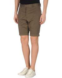 Trussardi Bermuda Shorts - Green