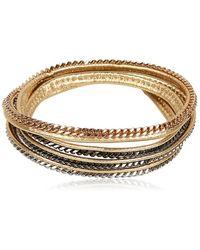 Vita Fede Capri 5 Wrap Bracelet - Metallic