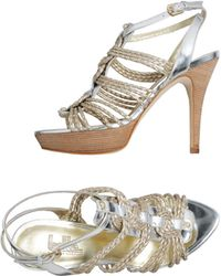 Belle By Sigerson Morrison Platform Sandals - Lyst