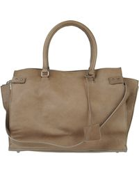 CoSTUME NATIONAL | Large Leather Bag | Lyst