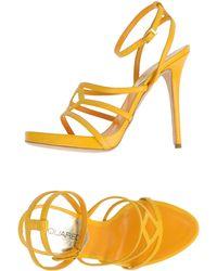 DSquared² Platform Sandals - Yellow
