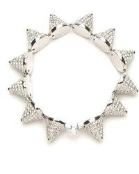 Eddie Borgo Pave Cone Bracelet - Metallic
