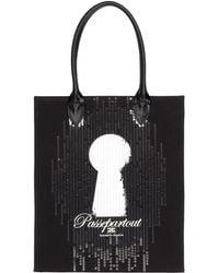 Elisabetta Franchi - Medium Fabric Bag - Lyst