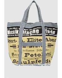 Epice Large Fabric Bag - Yellow