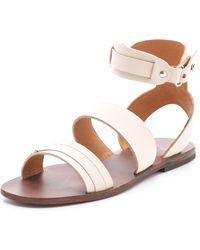 Ishvara - Barcelona Flat Sandals - Lyst