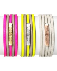 Marc By Marc Jacobs Multi Leather Toggle Bracelet - Lyst