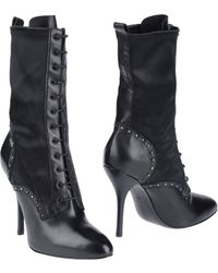 Miss Sixty Ankle Boots - Lyst