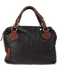 Pauric Sweeney Medium Leather Bag - Black