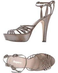 Raparo Platform Sandals - Lyst