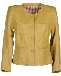 S.W.O.R.D Leather Outerwear - Lyst