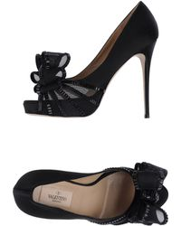 Valentino Pumps with Open Toe - Lyst