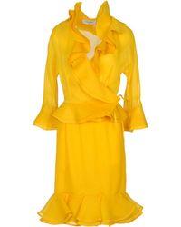 Saint Laurent Women'S Suit - Yellow