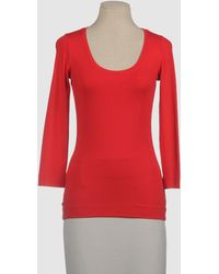 Claudia Sträter Long Sleeve T-shirt - Red