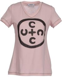 Moschino Cheap & Chic Short Sleeve T-Shirt - Lyst