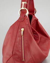 Rachel Zoe - Joni Leather Zipper Hobo Bag - Lyst