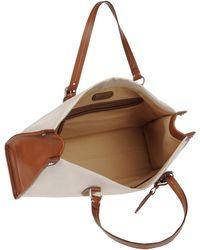 Ralph Lauren Collection Large Fabric Bag - Natural