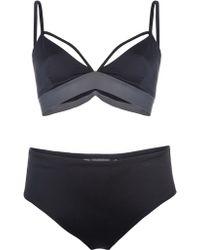 Cheap Monday - X-Strap Top Bikini - Lyst