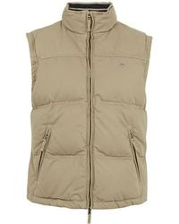 GANT - Quilted Gilet - Lyst