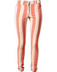House of Holland Striped Denim Jeans - Lyst
