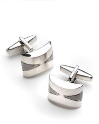 Kenneth Cole Reaction - Concave Cufflinks - Lyst