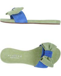 Fiorina Clog Sandals - Green