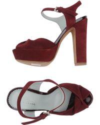 Maria Cristina Platform Sandals - Lyst