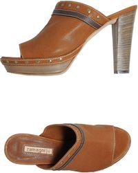 Zamagni - Platform Sandals - Lyst