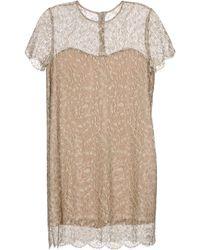 Zoe Jordan Short Dress - Natural