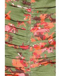 Thakoon Addition - Floralprint Cottonblend Dress - Lyst
