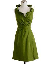 J.Crew - Petite Blakely Dress in Silk Taffeta - Lyst