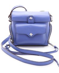 Rebecca Minkoff Craig Camera Bag purple - Lyst