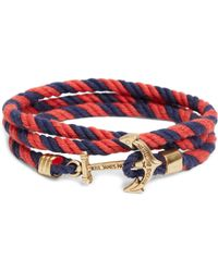Brooks Brothers - Kiel James Patrick Lanyard Hitch Cord Bracelet - Lyst