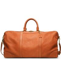 COACH | Bleecker Pebbled Leather Cabin Bag | Lyst