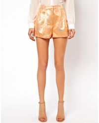 ASOS Collection Shorts in Summer Jacquard - Lyst