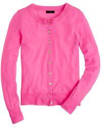 J.Crew Merino Wool Tippi Cardigan Sweater - Lyst