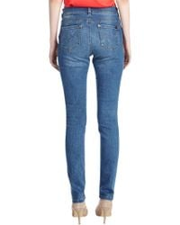 Oasis Cherry Jeans - Blue