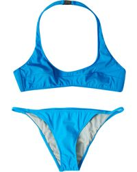Tomas Maier Ellis Halterneck Bikini - Lyst