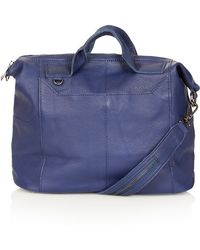 Topshop Washed Gladstone Holdall - Lyst