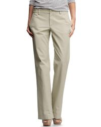 Gap Classic Khaki Pants - Lyst