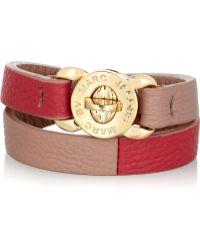 Marc By Marc Jacobs   Katie Textured Leather Wrap Bracelet   Lyst