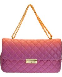 Moschino Cheap & Chic Quilted Bicolour Shoulder Bag - Lyst