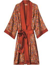 Toast - Antonia Silk Dressing Gown - Lyst