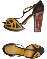 Joanne Stoker - Platform Sandals - Lyst