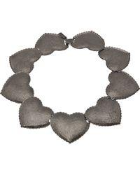Tuleste - Interlocking Heart Necklace - Lyst