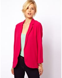 ASOS Collection Premium Oversized Blazer in Crepe - Lyst