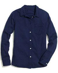 Madewell Soft Dot Boy Shirt - Lyst