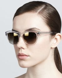 Oliver Peoples Sofee Rounded Sunglasses - Lyst