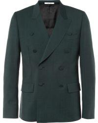 Paul Smith Green Woolblend Suit Jacket - Lyst